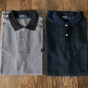 Set of 2 Polos by Polo Ralph Lauren Size M